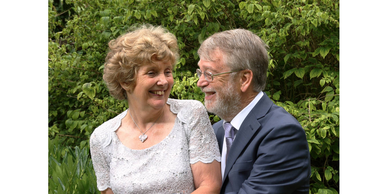Bride and grrom